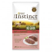 True Instinct No Grain Mini Paté de buey y verduras