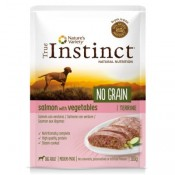 True Instinct No Grain Medium Maxi Terrine de salmón y verduras