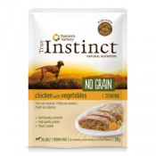 True instinct No Grain Medium Maxi Terrine de pollo y verduras