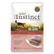 True Instinct No Grain Paté de buey y verduras para gatos