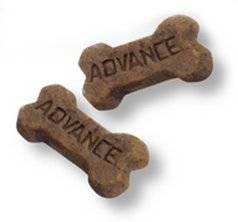 Galletas en forma de hueso Advance Puppy Snack para cachorros